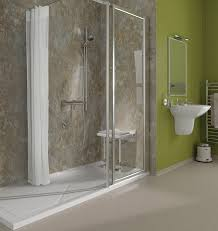 Small Bathroom Ideas With Walk In Shower by Small Bathroom Tile Walkin Shower Black Porcelain Futuristic