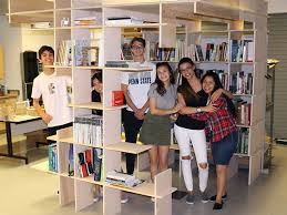 8 Ft Bookshelf Hcst District News High Tech Architecture Studio And Wood