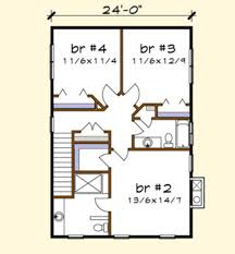 Floor Plan Abbreviations by Craftsman Style House Plan 4 Beds 3 50 Baths 2163 Sq Ft Plan 79 274