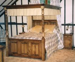 Poster Bed Canopy Four Poster Bed Canopy Beds Oak Country Furniture Bedroom Wood