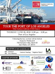 Port Of Los Angeles Map by Tour The Port Of Los Angeles Ccim Southern California