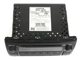 reman u0026 aux mod service for 2005 2006 toyota camry le xle radio am