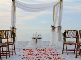 Simple Wedding Decoration Ideas Simple Fall Beach Wedding Decoration Ideawedwebtalks Wedwebtalks