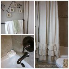 Frilly Shower Curtain Bathroom Crate And Barrel Shower Curtains For The Perfect