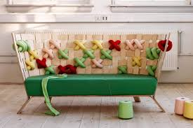 Furniture By The Room Giant Cross Stitch Furniture By Ellinor Ericsson Design Milk