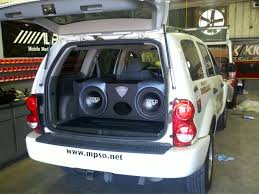 dodge durango stereo treo engineering installations