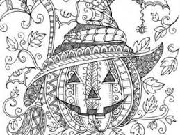 halloween coloring pages for adults printables best 25 halloween