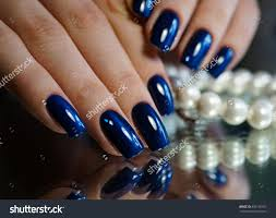 nails manicure beads nails natural manicure stock photo 492140107
