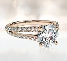 gold and silver engagement rings gold engagement rings ritani