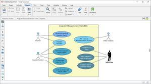 membuat erd visual paradigm mahasiswa sistem informasi tekno