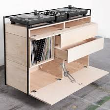 mobile console check out this new sleek and mobile dj console living room