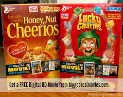 a frugal family movie night with big g cereal movies frugal