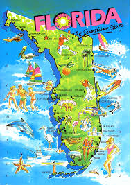 Map Of Florida State by America U0027s Tourist Trap U2013 Mountain View Mirror