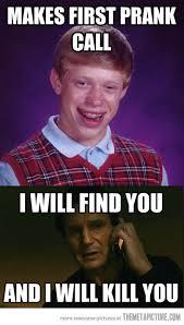 Bad Luck Bryan Meme - lol funny meme bad luck brian