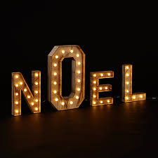 buy john lewis noel christmas light sign soft white online at