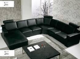 canapé cuire canapé panoramique cuir noumea canapé cuir 6 places 306x185x155