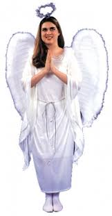White Angel Halloween Costume Angel Costumes Angel Halloween Costumes Adults
