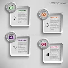 info graphic with design square template stock vector image