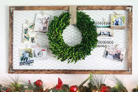 Decoration Of Christmas Cards 21 diy christmas card holder ideas how to display christmas cards