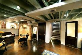 Ideas For Finished Basement Fresh Semi Finished Basement Ceiling Ideas 25 Best Ceilings Ideas