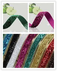velvet ribbon elastic glitter velvet ribbon id 7244751 product details view