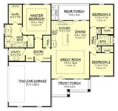 Open Ranch Floor Plans 10 Best Modern Ranch House Floor Plans Design And Ideas Best