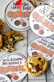 Halloween Gifts For Teachers by Cookie Teacher Appreciation Gift Tags From Www Teepeegirl Com