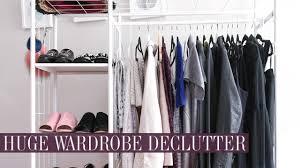 massive wardrobe declutter u0026 clearout mademoiselle youtube
