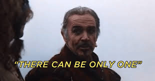 There Can Only Be One Meme - highlander there can be only one gif 7 gif images download