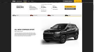 Jeep Compass North Price 2017 Jeep Compass Priced From 20 995 In The United States
