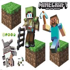 minecraft wall stickers image collections home wall decoration ideas