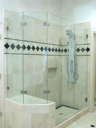 Shower Doors Prices Cost Of Frameless Shower Doors S Best Price Glass Door Belene Info