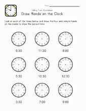 24 best time worksheets images on pinterest clocks kids