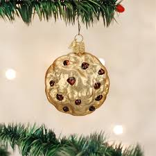 chocolate chip cookie ornament world glass ornaments