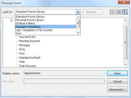 how to add shortcuts to template in ribbon in outlook