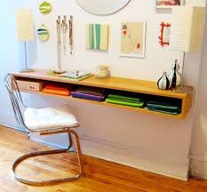 folding desks for small spaces why wall mounted desks are perfect for small spaces