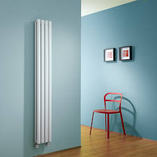 Radiateur Electrique Style Retro Radiateurs électriques Design Blancs Acier Vertical Et Horizontal