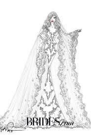 designers wedding dress sketch for kim kardashian u2013 my wedding nigeria