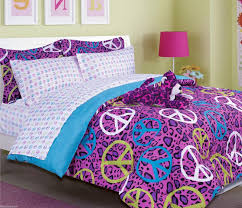 Girls Bed In A Bag by Purple And Blue Bedding Girls Bed In A Bag Purple Blue Annie