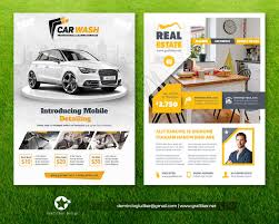 Real Estate Poster Template by Professional Flyer Templates By Grafilker On Envato Studio