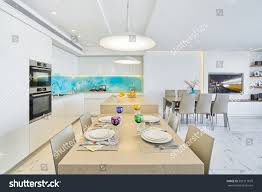 Design Of Kitchen Furniture by Modern Luxury Interior Design Kitchen Stock Photo 507211879