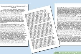 Write My Culture Dissertation Introduction by 5 Easy Ways To Start A College Essay With Pictures
