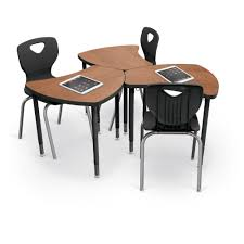 Student Desk Dimensions Shapes Desk Configurable Student Desking Mooreco Inc Best Rite