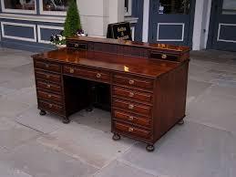 Secretarys Desk by English Regency Mahogany Desk At 1stdibs