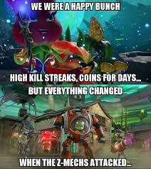 Zombie Birthday Meme - image meme plants vs zombies garden warfare 2 z mech hoards jpg
