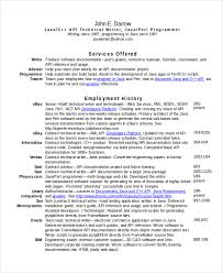 Perl Resume Sample by Technical Resume Template 6 Free Word Pdf Document Downloads