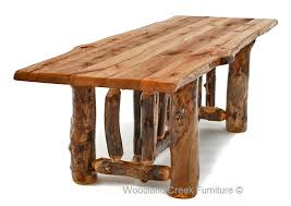 Log Dining Room Tables Steel Log Siding Archives Tru Log Siding