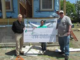 lafarge volunteers help make a difference new orleans area