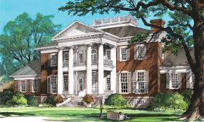 southern plantation floor plans homes colonial revival plan luxamcc