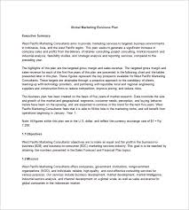 10 year business plan template microsoft word and excel 10